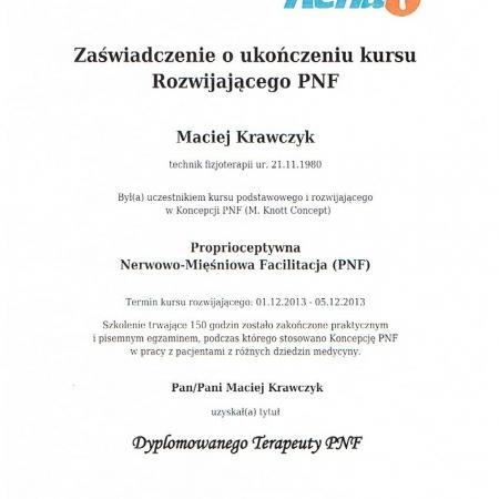 PNF rozwijający